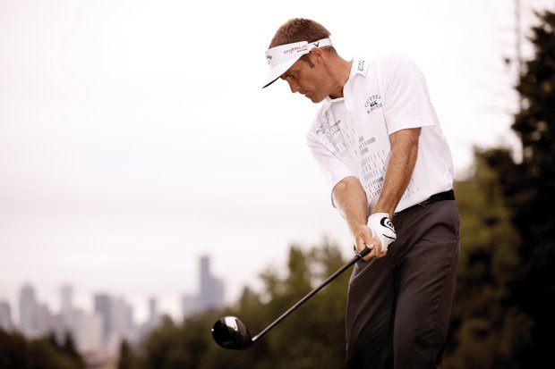 Stuart Appleby, the PGA Tour Comeback Player of the Year in 2010, sports Cutter & Buck apparel.