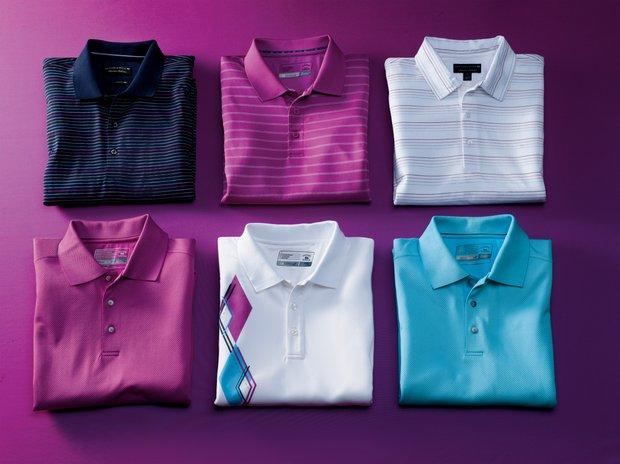Cutter & Buck's men's golf apparel line.