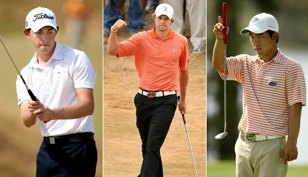 Patrick Cantlay, Peter Uihlein and Bank Vongvanij