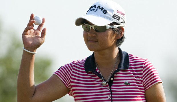 Yani Tseng during the final round of the LPGA Thailand.