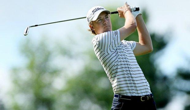 Jordan Spieth during the 2010 U.S. Junior Amateur.