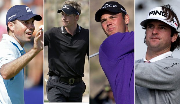 Matt Kuchar, Luke Donald, Martin Kaymer and Bubba Watson advanced to the semifinals of the Accenture Match Play Championship.