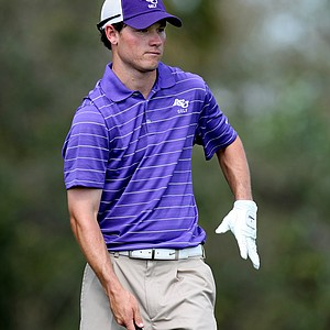 Alex Carpenter of Abilene Christian during the first round.