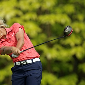 Suzann Pettersen of Norway during the final round of the HSBC Women's Champions at Tanah Merah Country Club on February 27, 2011 in Singapore, Singapore.