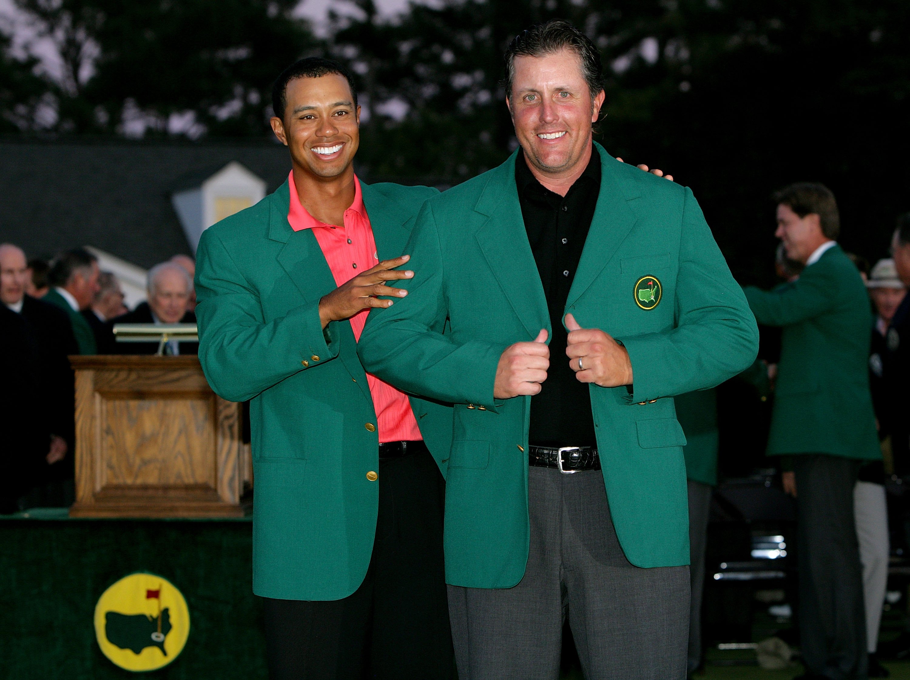 Augusta 2006 and the Green Jacket | Is the Tiger Woods and Phil ...