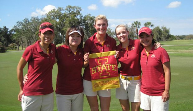 Iowa State after winning the Central District Challenge.
