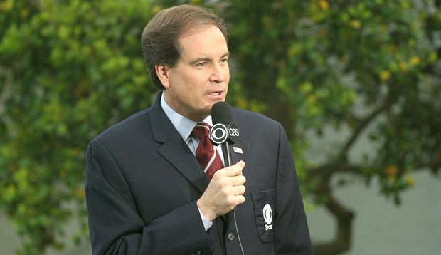 Frank Chirkinian, known as the father of televised golf, changed the industry landscape and served as a mentor to CBS golf anchor Jim Nantz (seen here).