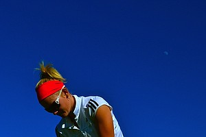 LPGA Futures Tour's Nicole Noelle Smith during a practice round. Nicole is blogging exclusively for Golfweek.com.