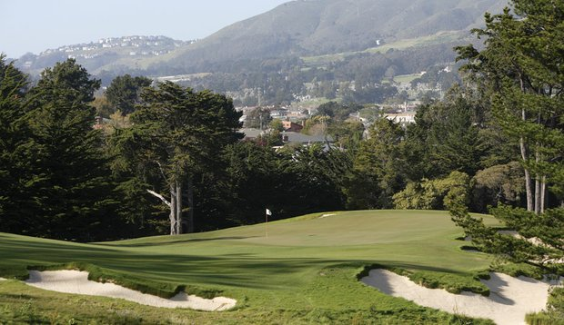 The Cal Club's par-4 seventh hole.