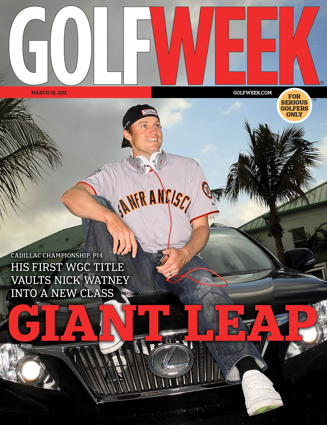 March 18, 2011 – Profile of Nick Watney, winner of the WGC-Cadillac Championship