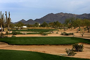 The fifth hole at Wildfire Golf Club is a 510-yard par 5.
