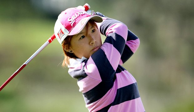 Rika Park during the Golfweek East Coast Junior Invitational.