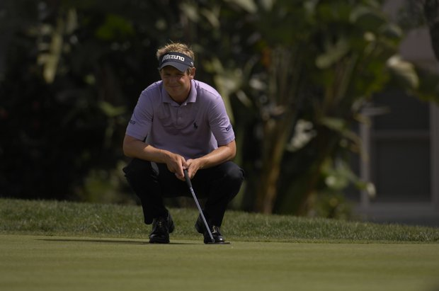 March 2007-- Luke Donald in action during the Arnold Palmer Invitational at Bay Hill in Orlando, Fl..