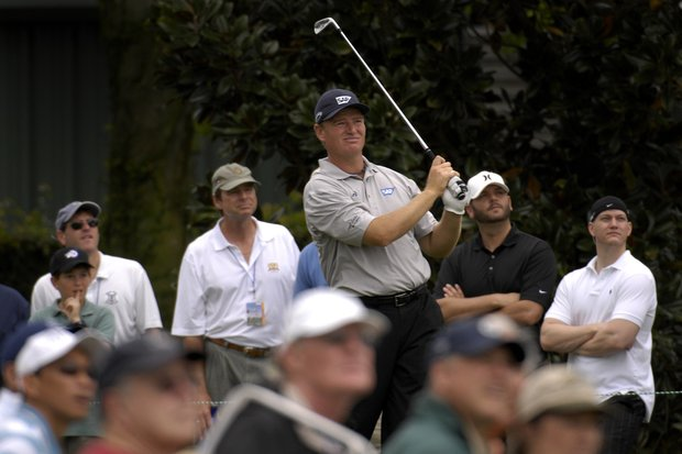 March 2007- Ernie Els in action during the Arnold Palmer Invitational at Bay Hill in Orlando, Fl..