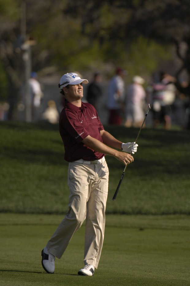 March 2007--Zach Johnson in action during the Arnold Palmer Invitational at Bay Hill in Orlando, Fl..