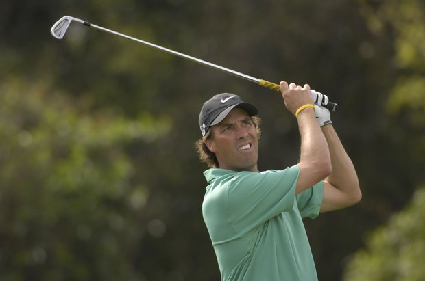 March 2007--Stephen Ames in action during the Arnold Palmer Invitational at Bay Hill in Orlando, Fl..