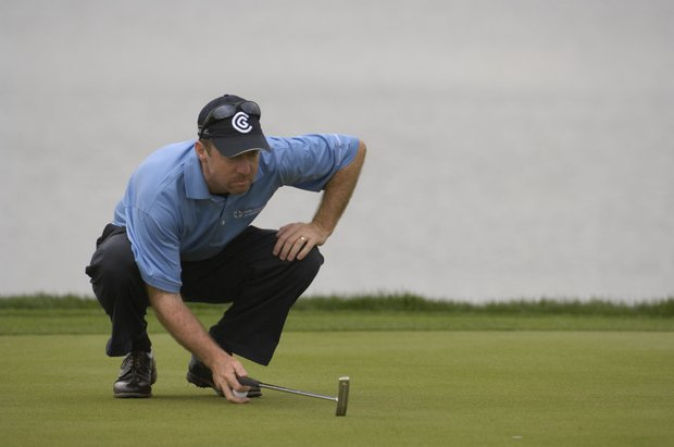 March 2007--Rod Pampling in action during the Arnold Palmer Invitational at Bay Hill in Orlando, Fl..