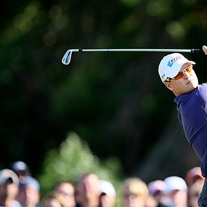 Orlando, FL--03/29/09--Zach Johnson during the final round of the Arnold Palmer Invitational at Bay Hill Club and Lodge.