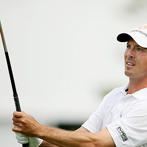 Orlando, FL--03/267/09--Mike Weir during the third round of the Arnold Palmer Invitational at Bay Hill Club and Lodge.