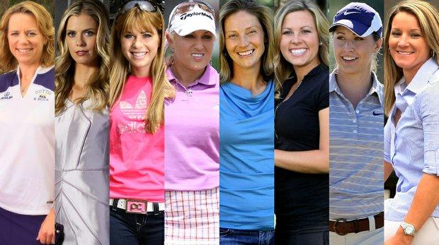 Annika Sorenstam, Anna Rawson, Paula Cramer, Natalie Gulbis, Angela Stanford, Sara Brown, Paige Mackenzie and Kristy McPherson have all filled out brackets on Golfweek's Bracket Mania contest site.