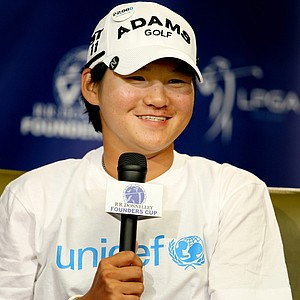 Yani Tseng is supporting UNICEF at the charity-driven RR Donnelley LPGA Founders Cup.