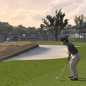 An image, courtesy of EA Sports, that shows Bubba Watson in the new Tiger Woods '12: The Masters edition, slated for release on March 29, 2011.
