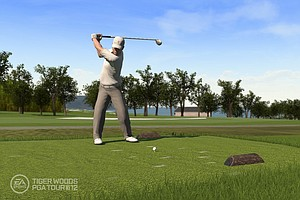An image, courtesy of EA Sports, that shows Zach Johnson in the new Tiger Woods '12: The Masters edition, slated for release on March 29, 2011.