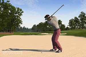 An image, courtesy of EA Sports, that shows Edoardo Molinari at TPC Sawgrass in the new Tiger Woods '12: The Masters edition, slated for release on March 29, 2011.