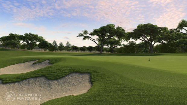An image, courtesy of EA Sports, that shows TPC San Antonio in the new Tiger Woods '12 game, slated for release on March 29, 2011.