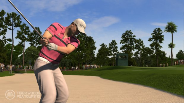 An image, courtesy of EA Sports, that shows Henrik Stenson at TPC Sawgrass in the new Tiger Woods '12: The Masters edition, slated for release on March 29, 2011.