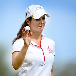 Beatriz Recari shot a first round 68.