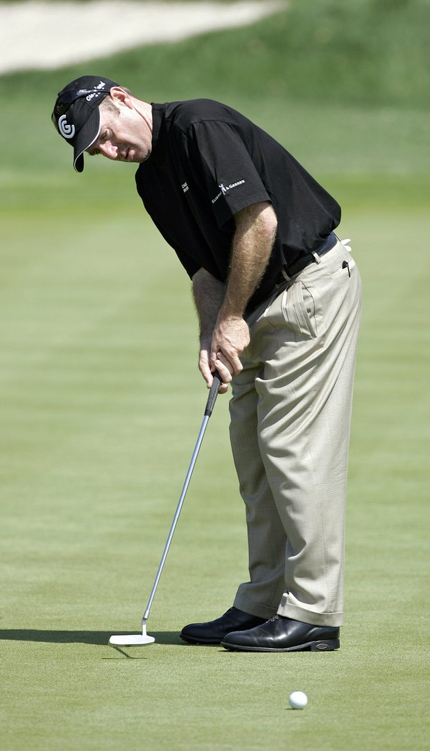 Rod Pampling in action during the second round of the Bay Hill Invitational presented by MasterCard at the Bay Hill Club in Orlando, Florida on March 17, 2006.