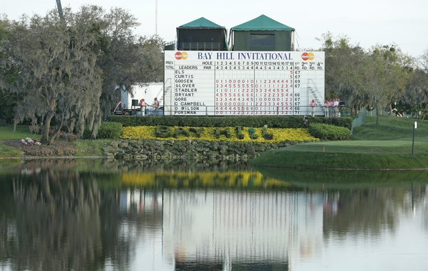 General, scenic view of the golf course during the first round of the Bay Hill Invitational presented by MasterCard at the Bay Hill Club in Orlando, Florida on March 16, 2006.