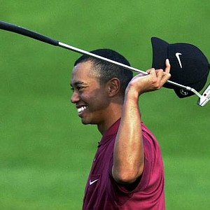 Tiger Woods won the 2001 Masters at the Augusta National Golf Club in Augusta, Ga., Sunday, April 8, 2001.