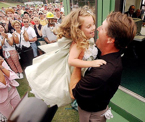 Photo of Phil Mickelson & his  Daughter  Amanda Brynn Mickelson