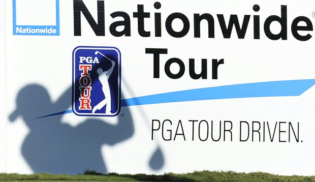 Signage displayed at the 2010 Nationwide Tour Championship.