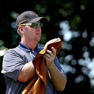 David Duval at No. 2 during Round 1 of the Arnold Palmer Invitational at Bay Hill Club & Lodge.