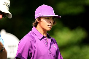 Rickie Fowler during Round 1 of the Arnold Palmer Invitational at Bay Hill Club & Lodge.