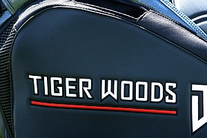 Tiger Woods golf bag during Round 1 of the Arnold Palmer Invitational at Bay Hill Club & Lodge.