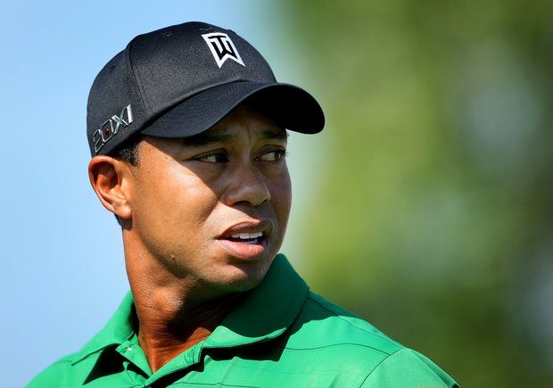 Tiger Woods during Round 2 of the Arnold Palmer Invitational at Bay Hill Club & Lodge.