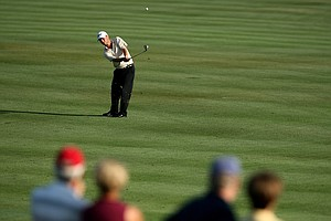 Spencer Levin at No. 6 during Round 2 of the Arnold Palmer Invitational at Bay Hill Club & Lodge.