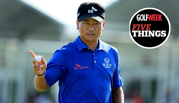 K.J. Choi during Round 2 at Bay Hill.