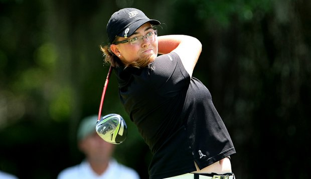 Purdue's Laura Gonzalez at the 2010 NCAA Championship