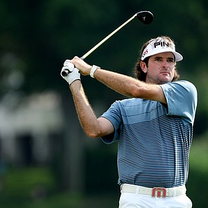 Bubba Watson at No. 18. Watson posted a 68 to move into a tie for third.