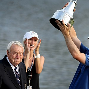 Martin Laird after winning the Arnold Palmer Invitational at Bay Hill Lodge and Club.