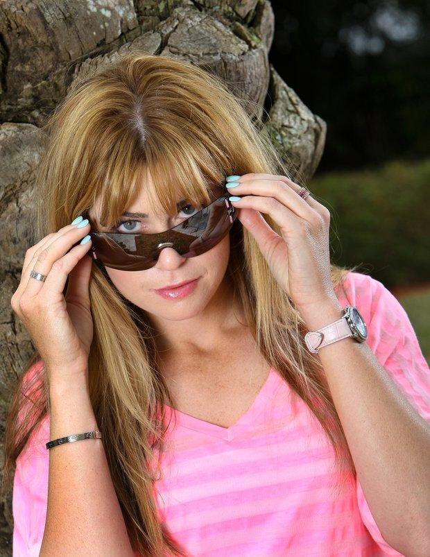 Orlando, Fla.--03/09/10--Paula Creamer photographed at Omni Resort for Sunglass shoot