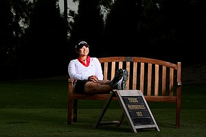 Yani Tseng during her photo shoot at Lake Nona in Orlando, Fla.