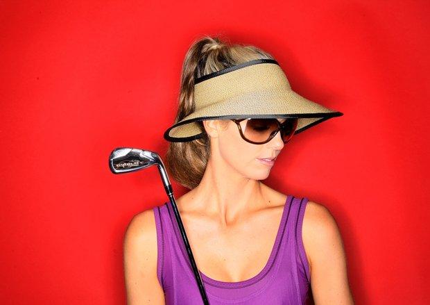 Los Angeles, Calif.--03/05/10--Behind the scenes of the Anna Rawson Golfweek shoot in Los Angeles.