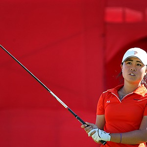 Danielle Kang during the second round. Kang a Pepperdine student is playing as an amateur.