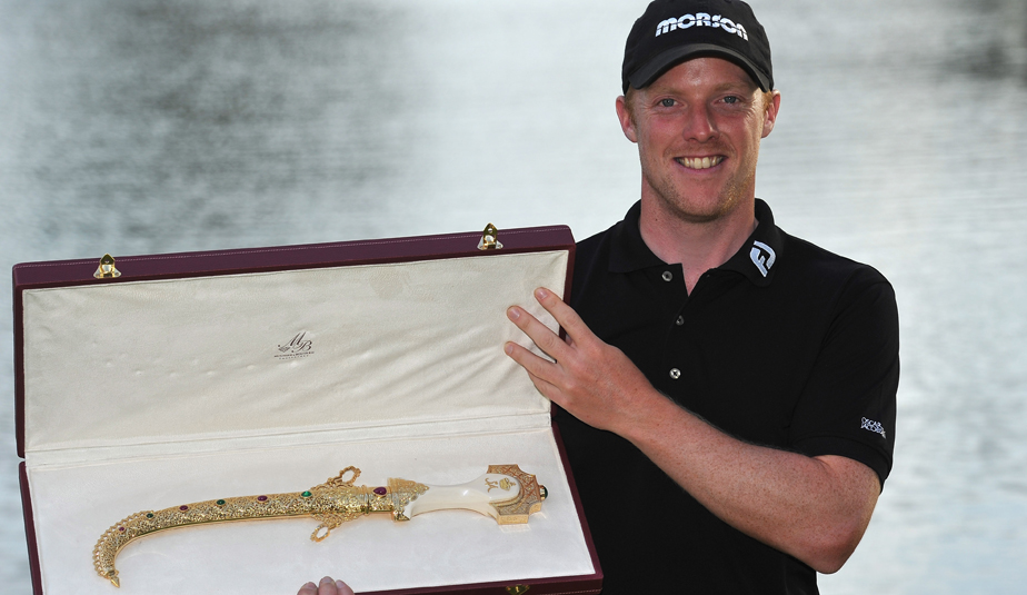 David Horsey after winning the 2011 Hassan II Trophy
